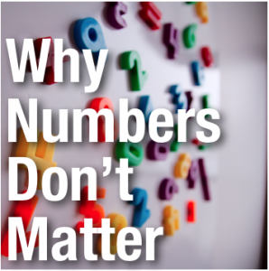 Youth Ministry Numbers Do Not Matter