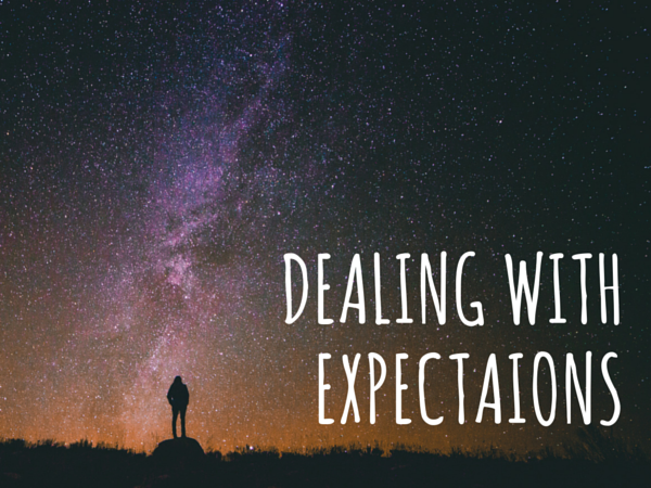 dealing with expectations in youth ministry