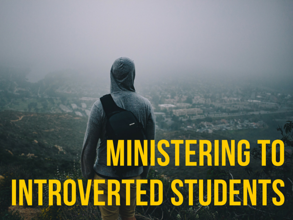 ministering to introverted students