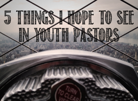See in Youth Pastors