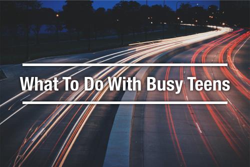 busy teens